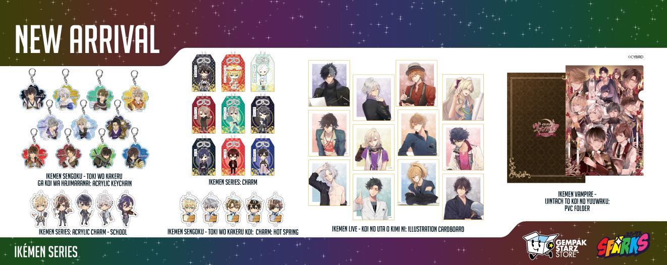 New arrival merchandise (Ikemen)