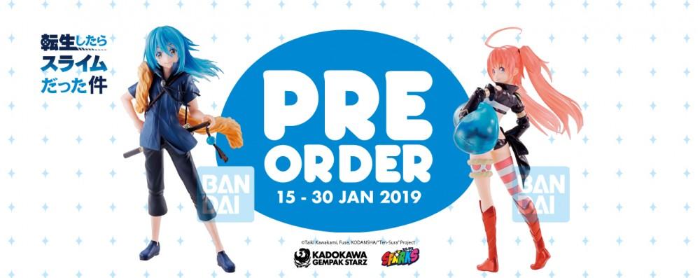 Pre-order merch (15 Jan 2018)