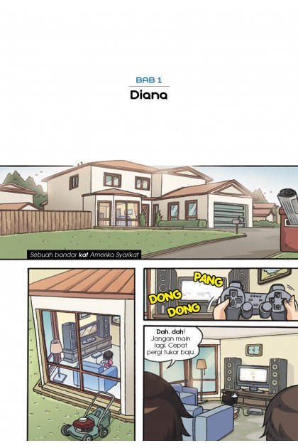 Siri Citra Kasih 02: Diana & Zoe