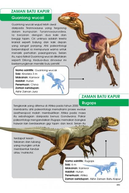 Siri X-VENTURE Dunia Dinosaur: Huru-hara Zaman Batu Kapur