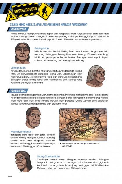 Siri X-VENTURE Dunia Dinosaur II 02: Kemunculan Primat