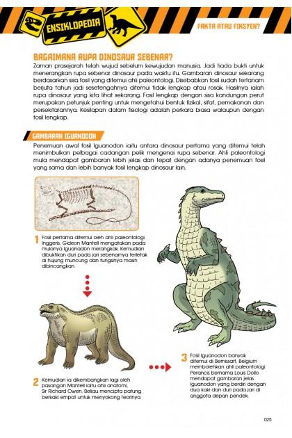 Siri X-VENTURE Dunia Dinosaur II 05: Lenyap Tanpa Jejak