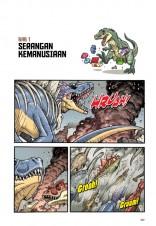 Siri X-VENTURE Dunia Dinosaur II 11: Gempur Berabad