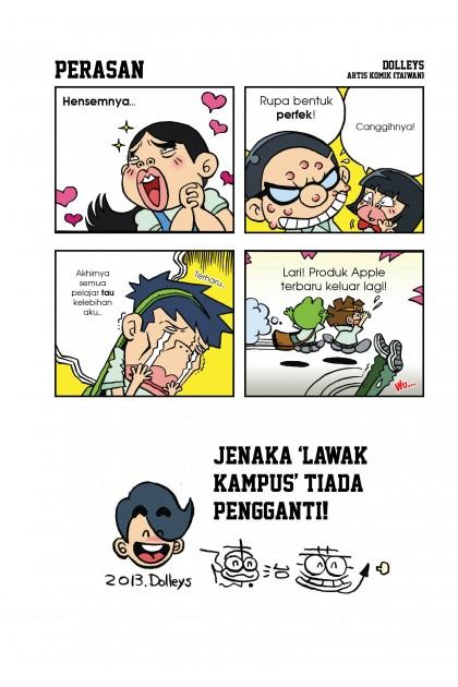 Lawak Kampus: Friends Edition