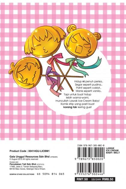 Lawak Ice Cream Baby: Melt