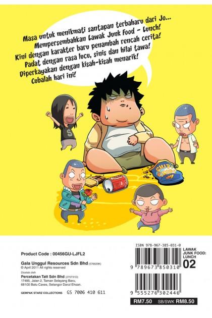 Lawak Junk Food Lunch 02