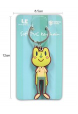 LAWAK KAMPUS SMILE PHILOSOPHY SOFT PVC KEYCHAIN