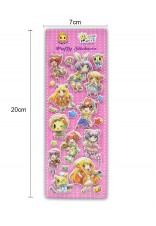 CANDY SERIES PUFFY STICKER