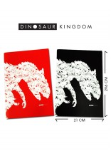 NOTEBOOK DINOSAUR KINGDOM A4