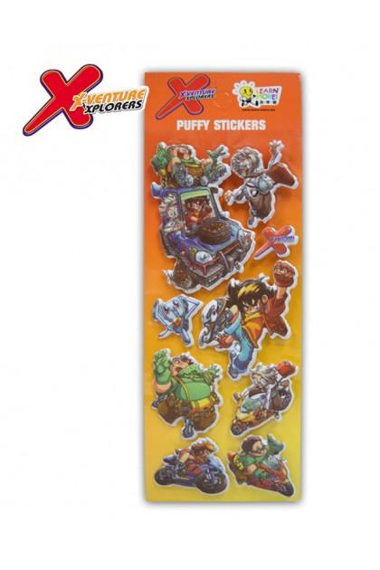 X-VENTURE PUFFY STICKER