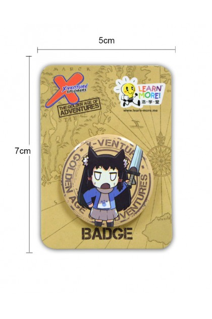 THE GOLDEN AGE OF ADVENTURE SMALL BADGES