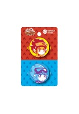 Lawak Kampus Dimension Drift 37mm Badges (4 Designs - 2 Pcs / Pack)