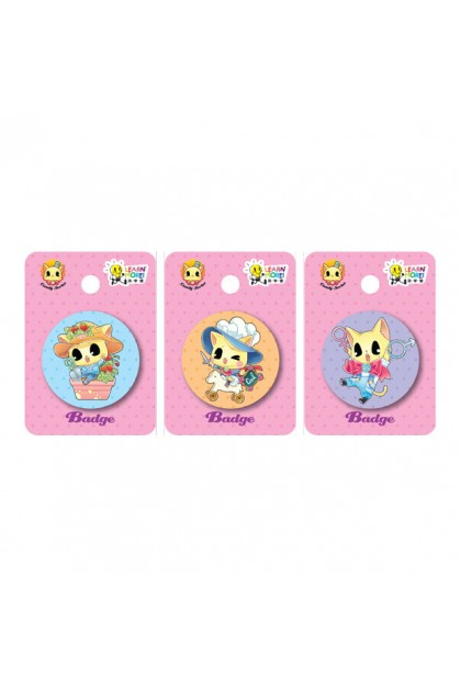 Candy 37mm Badges (3 Designs)