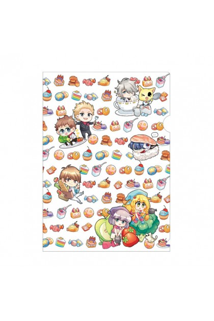 Candy x Prince Series Metalised PVC Folder