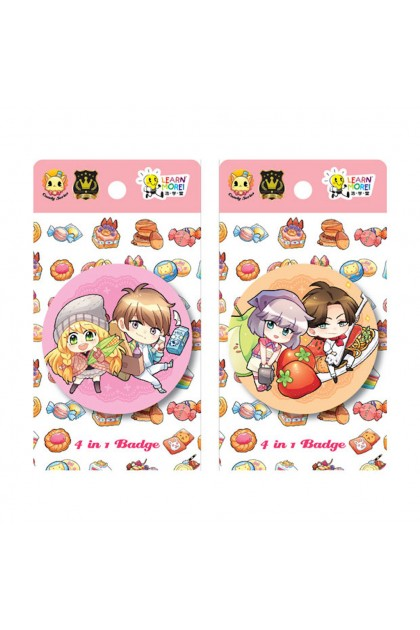Candy X Prince Series 58mm - 4 in 1 Badges (2 Designs)