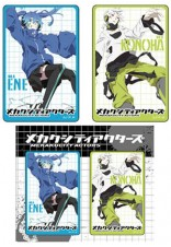MEKAKUCITY ACTORS  Card Sticker  卡貼組 A