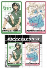 MEKAKUCITY ACTORS  Card Sticker  卡貼組 B