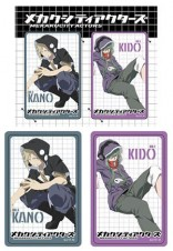 MEKAKUCITY ACTORS Card Sticker  卡貼組 C