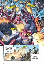 X-VENTURE Exobot Academy 06: Fearsome Black Dragon