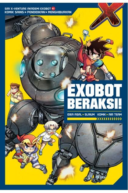 Siri X-VENTURE Akademi Exobot 01: Exobot Beraksi!