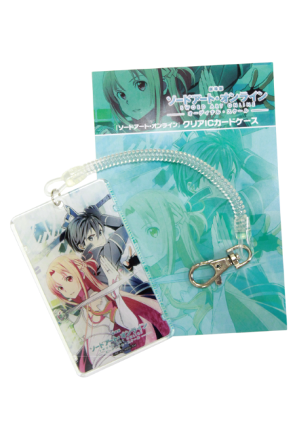Sword Art Online Clear Card Case