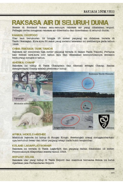 Fail Enigma-X 05: Jersey Devil X Raksasa Loch Ness Makhluk Tidak Diketahui