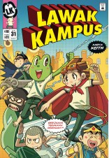 Lawak Kampus 31 Special Pack (With Lawak Kampus Birthday Badge)
