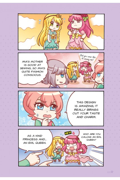 Candy Cuties 02: Merry Macarons Topic: Clothes & Etiquette