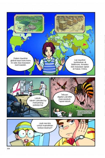 Siri X-VENTURE Dunia Haiwan II 01: Sengatan Maut