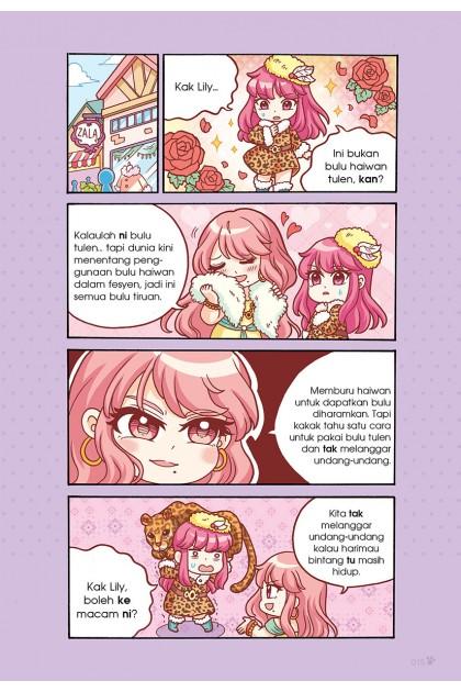 Siri Candy Cuties 02: Manis Makarun Topik: Fesyen & Tatasusila