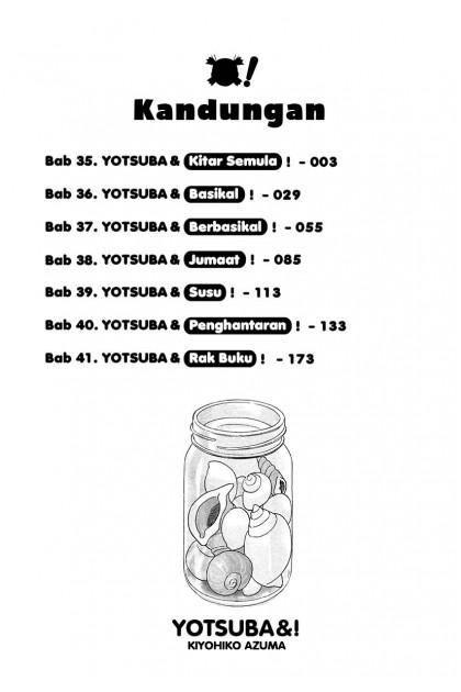 Yotsuba&! 06 (Malay)