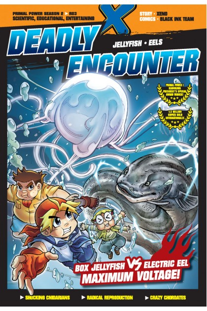 X-VENTURE PRIMAL POWER II 03: DEADLY ENCOUNTER