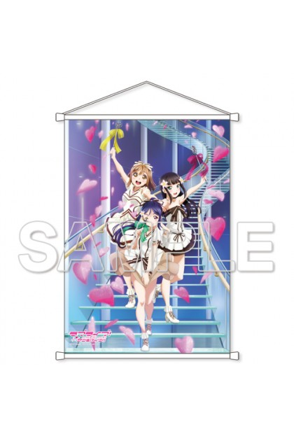 "Lovelive! Sunshine !! ""CYaRon! Energetic fully open B2 tapestry"
