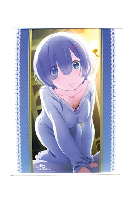 Re:ZERO Rem's Changing Clothes on/off Tapestry