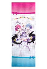 Re ZERO Big Towel celebrating Emilia's Birthday Original Illustration from Anime ver.