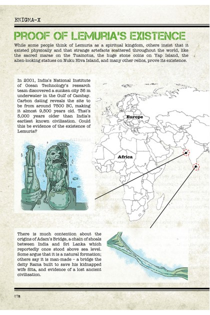 Enigma-X File 08: Lemuria X Underground Rome Mysterious Places