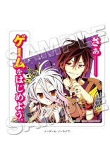 MF Bunko J Die-cut Sticker No Game No Life