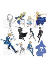 Sword Art Online Game Series Trading Acrylic Keychain ALICIZATION