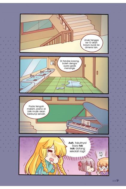 Siri Candy Cuties 07: Gula-Gula Hantu: Topik: Pertembungan Ghaib