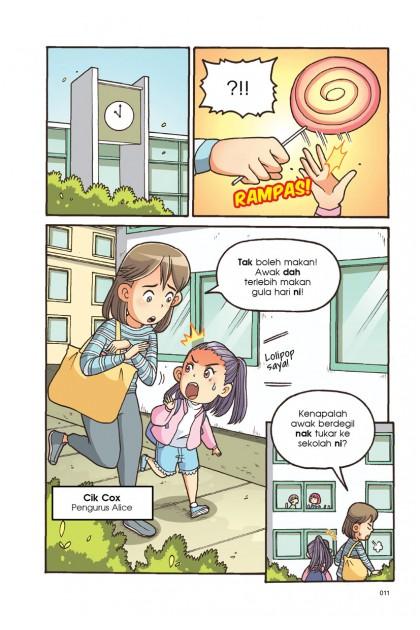 Siri Mercu Impian C.E.O Remaja 05: Senyuman Menawan: Penjagaan Gigi