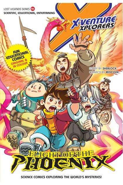X-VENTURE Lost Legends Series 06: Flight of The Phoenix
