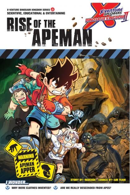 X-VENTURE Dinosaur Kingdom II Series: Rise of The Apeman