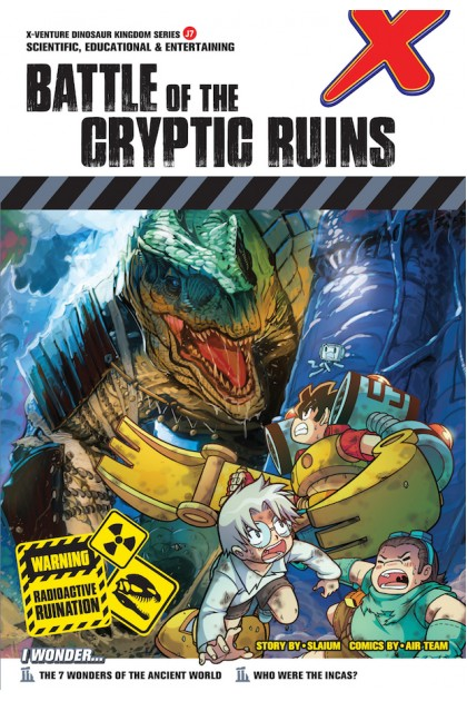 X-VENTURE Dinosaur Kingdom II Series: Battle of The Cryptic Ruins