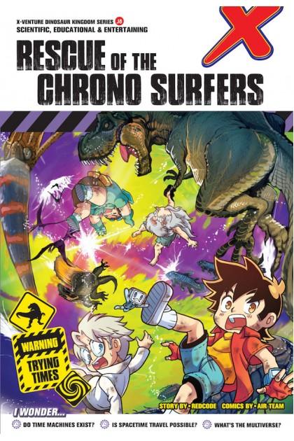 X-VENTURE Dinosaur Kingdom II Series: Rescue of The Chrono Surfers