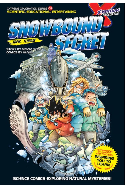 X-VENTURE Xtreme Xploration Series 08: Snowbound Secret