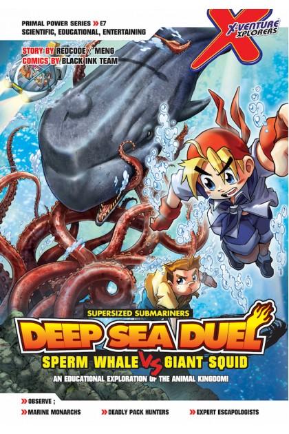X-VENTURE Primal Power Series: Deep Sea Duel