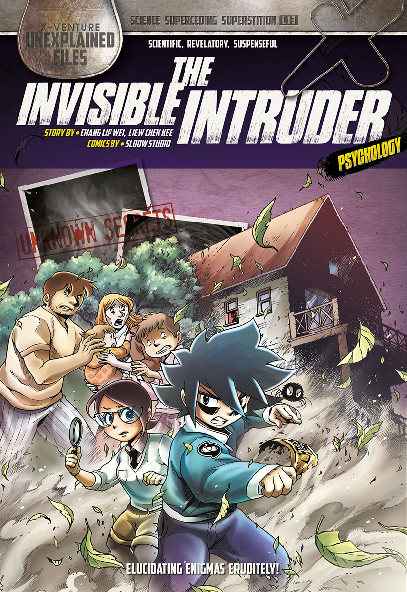 X-VENTURE UNEXPLAINED FILES 13: THE INVISIBLE INTRUDER
